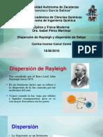 Dispersión de rayleigh - Debye.pptx