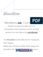 Bloodline - Official Vampire's Fall_ Origins Wiki