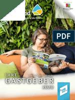 Gastgeberverzeichnis Ferienregion Stiftland