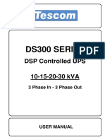 DS 300 10-15-20-30KVA User Manual EN