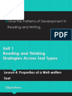 Unit 1-Lesson 4 (Properties of a Well-written Text).pptx