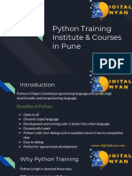 Join Complete Python Course | Affordable Fees | Digital Dnyan Academy