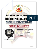 Vishvajith Abdul Tangent Galvanometer Project