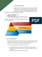 Organizational levels or Levels of management.docx