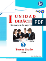1ra Unidad Didactica-2020- TERCER GRADO