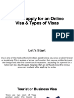 Royal Migration Solutions - Online Visa and Its Types