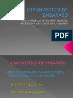 5.Diagnostico de embarazo. Dra.Izaguirre SETIEMBRE 2019.ppt