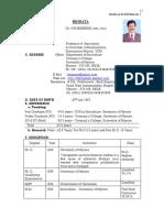 biodata as on sep 2019