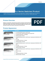 Huawei S5320-LI Series Switches Product Brochure