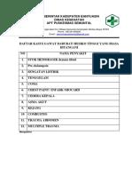 7.6.2. EP 1 Daftar Kasus GADAR Yang Bisa Ditangani