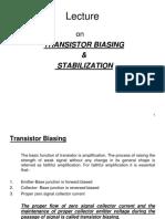 Transistor_Biasing_and_Stabilisation.ppt