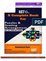 E-BOOK FOR PUZZLES AND SEATING ARRANGEMENT
