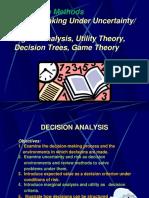 Qua Met Decision Analysis Models