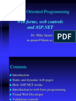 Web Forms and ASP Dot NET