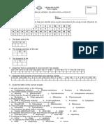 Dec Exam Science 7