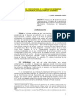 Cesar San Martín Castro (Legalidad Penal y Subsunción)