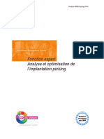 WMS Iseries Fonction Expert Analyse Optim Implantation Pick