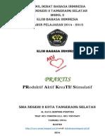Analisis Mosi Lomba Debat Bahasa Indonesia 2014