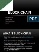 Block Chain 1