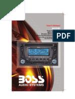 BOSS 865DBI User Manual