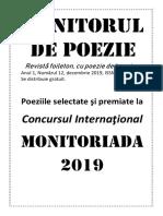 Revista Monitorul de Poezie 12.2019