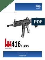 HK_416 PROJECT .22 parts breakdown