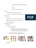 Lesson Plan in Sets
