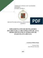 IMPLEMENTACIÓN DE DESTILADORES solares para RILes.pdf