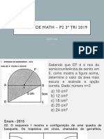 REVISÃ_O DE MATH â__ P2 3º TRI 2019 NEAD 8º ANO (1).pdf