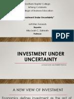 Investment Under Uncertainty (Jeff Khin Tumaob).pptx