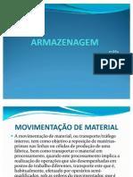 GESTÃO DE ESTOQUE E ARMAZENAGEM