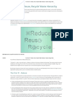 The Three R'S_ _Reduce, Reuse, Recycle_ Waste Hierarchy - Conserve Energy Future