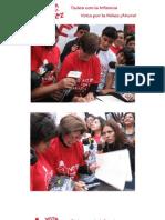 Candidatos a la alcaldía de Lima firman compromiso por la niñez