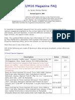 AR15-M16 Magazine FAQ