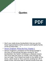 5. Quotes