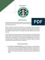 Análisis  Plan de Negocios Starbucks