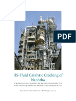 High Severity Fluid Catalytic Cracking of Naphtha