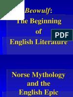 Norse Mythology and Beowulf