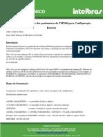 Tuitorial Regras Parametros Provisionamento Tip 100