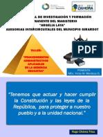 Taller Sobre Procedimientos Administrativos...ppt