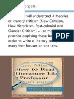 literary lens powerpoint