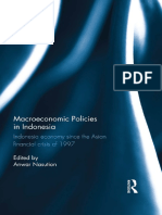 Anwar Nasution - Macroeconomic Policies in Indonesia_ Indonesia economy since the Asian financial crisis of 1997-Routledge (2014)