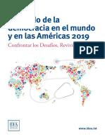 El Estado de La Democracia en El Mundo y en Las Americas 2019