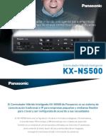 Folleto KX NS500
