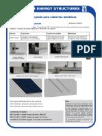 Estructura Paneles Solares KH915