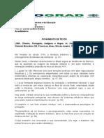 Fichamento - Oliveira Lima - Lit Bras i