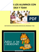 alumnos con TDAH