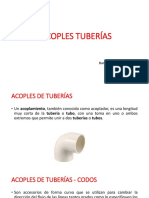 Acoples de Tuberías