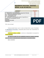 Aula 01 - INQUÉRITO POLICIAL. NOTITIA CRIMINIS.pdf