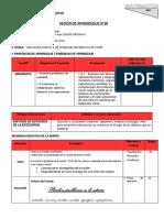 SESION 28 PROBLEMAS  DE SUMA.docx